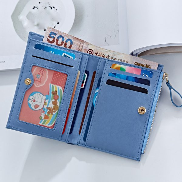 Forever Young Female Wallet Women Short Coin Card Holder Ladies Money Bag Purse Carteira Slim Small