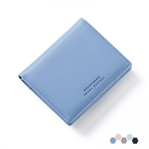 Forever Young Women Short Wallet Leather Coin Purse Card Holder Female Perse for Money and Zipper