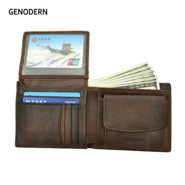 Leather Bifold Men's Wallets