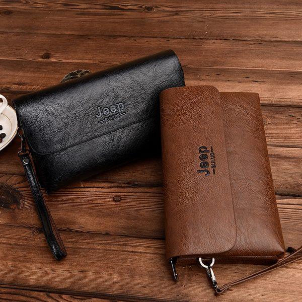 KYYSLO Long Wallet Men Men s Handbag Large Capacity Clutch Bag Fashion Multifunction Bag Clutch Bag
