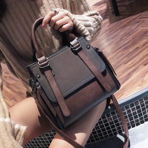 LEFTSIDE Vintage New Handbags For Women  Female Brand Leather Handbag High Quality Small Bags Lady