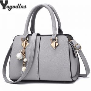 NEW brand women hardware ornaments solid totes handbag high quality lady party purse casual crossbody messenger