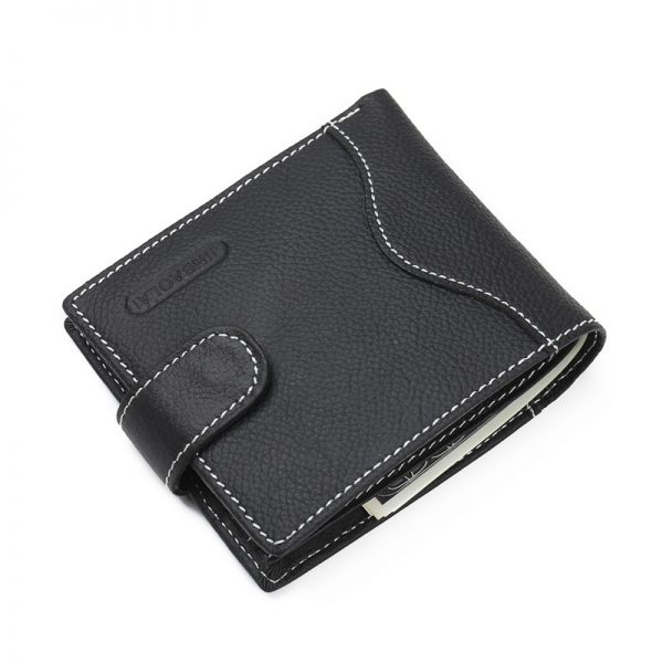New  JINBAOLAI Men Wallets Leather Genuine With Coin Bag Male Wallet Casual Purse Card Holder