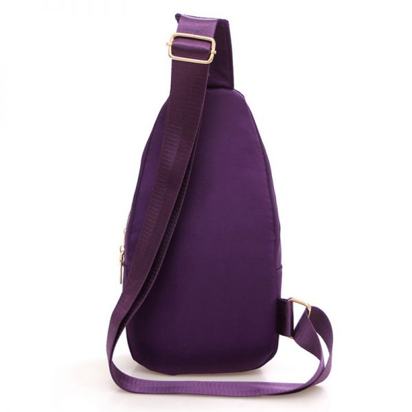 New  Women Chest Bags Casual Crossbody Messenger Bags for Women Ladies Nylon Waterproof Small Cross