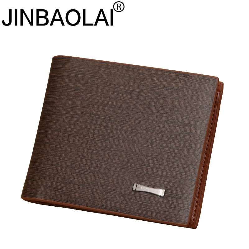 Small Slim Famous Brand Handy Portfolio Leather Men Wallet Purse Male Clutch Bag With Money Portomonee