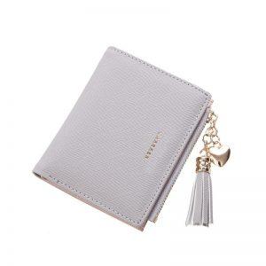 Tassel Women Wallets Small Leather Wallets Female for Coins Cute Wallet Women Coins Zipper Purses Portefeuille