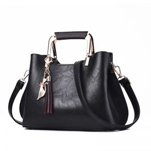 Women Handbags Luxury Designer  Ladies Pu Leather Handbag Messenger New Shoulder Bags Korean Style Tassel