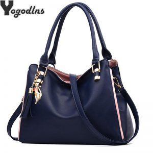 Women Messenger  New Tide Female Top handle Bag Girls Simple Shoulder Bags Women Handbags for