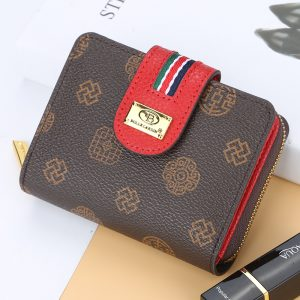 Women Wallet Leather Purse Hasp wallet female Short Small Purse Female Vintage Card Holder Zipper ladies