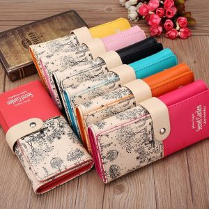 Women Wallets Hasp Lady Purses Handbags Brand Design Woman Moneybags Coin Purse ID Cards Holder Clutch