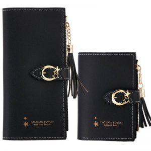 Women Wallets Lady Purses Clutch Coin Purse Money Bags Cards ID Holder Long Short Woman Wallet