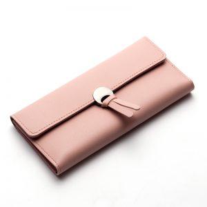 Womens Wallets Women Fashion Leather Wallet Leisure Clutch Ladies Bag Long Purses Handbags Organizer Billeteras Moda