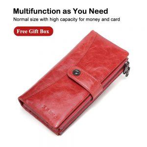 X D BOLO New Women Wallet Long Purses Clutch Wallets Female Fashion Phone Purse Card Holder