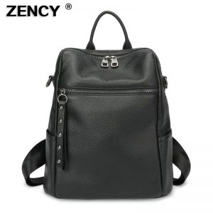 best leather backpack women's