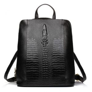 Crocodile Patter Women's Backpacks