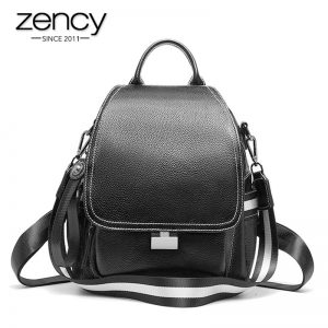 Genuine Leather Casual Backpacks