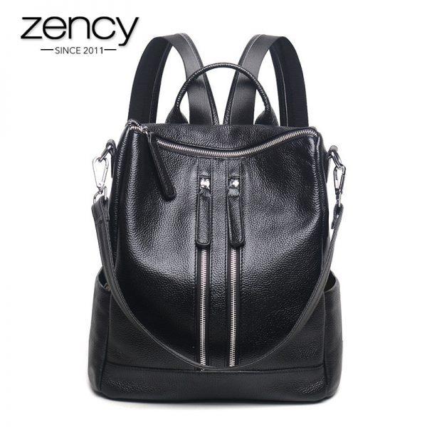 best fashionable leather travel backpacks