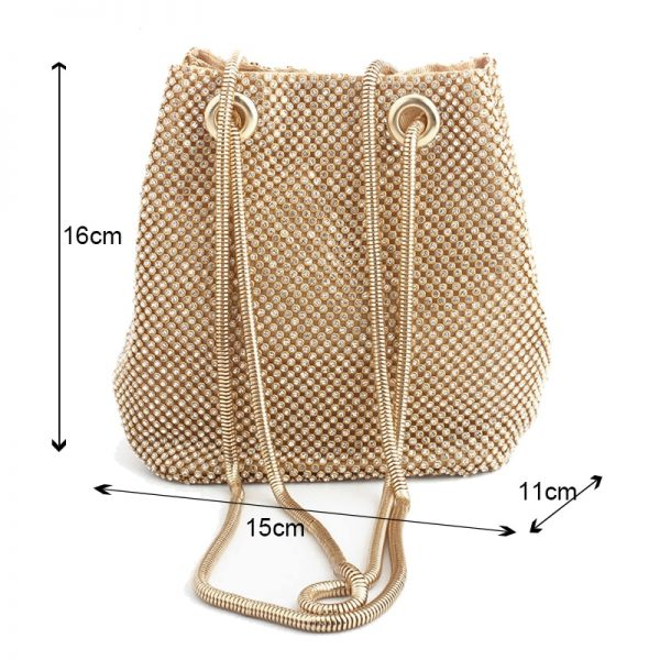 clutch evening bag luxury women bag shoulder handbags diamond bags lady wedding party pouch small bag