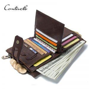 Bifold Zipper Wallets