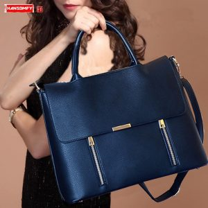 Women's 14 inch Leather Laptop Bags