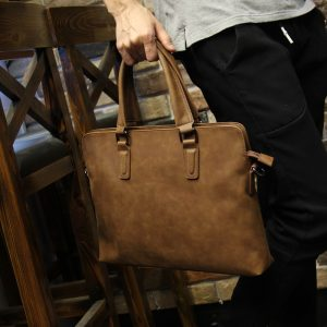 PU Leather Vintage Style