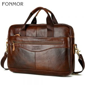 Cowhide Leather Laptop Bags