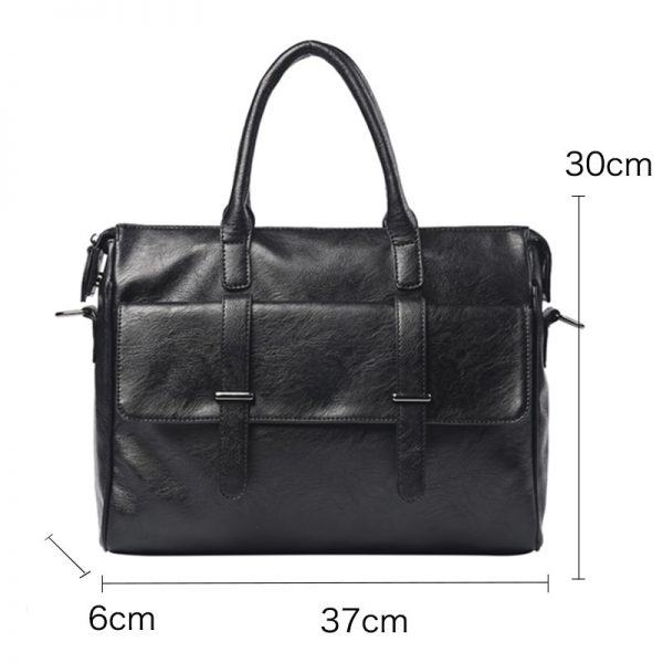 GUMST Brand Men Laptop Bag Briefcase Fashion Men s Business Bags Casual Leather Messenger Bag for