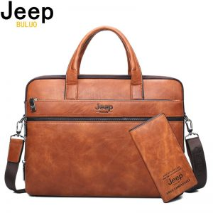 Luxury Leather Briefcase Bags