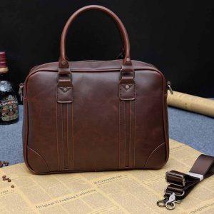 PU Leather Men's Messenger