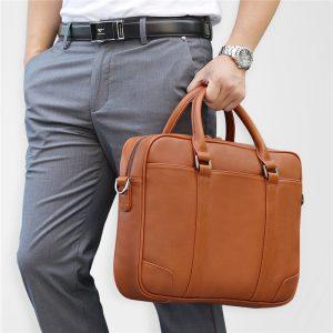 Multi-color Briefcase Bag