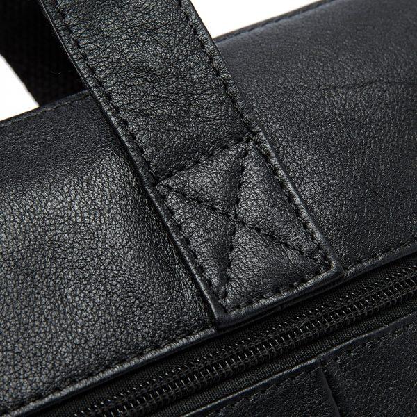 WESTAL Men s Briefcases Office Bag for Men Men s Bags Genuine Leather Briefcase Men Laptop
