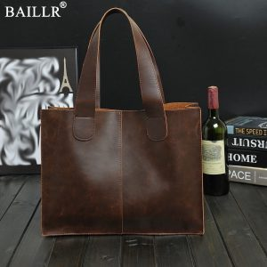Luxury Vintage Business Briefcase