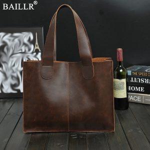 Luxury Vintage Business Briefcase