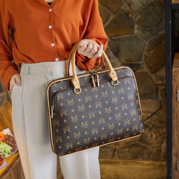 Women's Designer Leather Laptop Bags