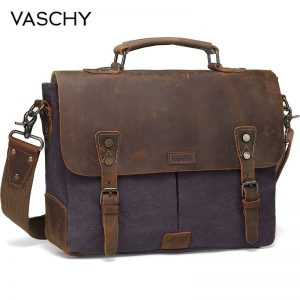 Leather Canvas Laptop Bags